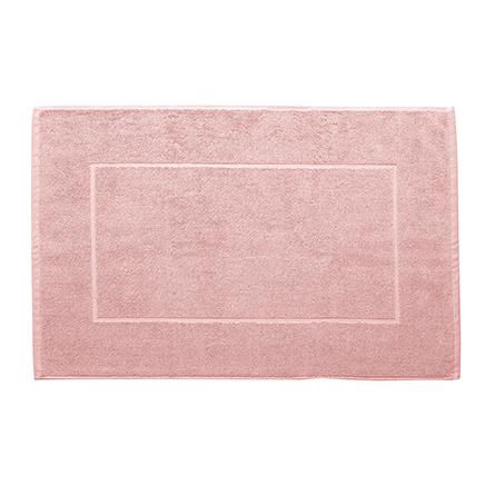 Nord badematte hotellmatte kvalitet tykke myke gode lys rosa